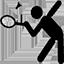 Macare Sport Badminton Logo